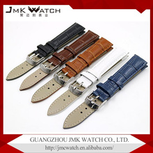Hot selling fashion leather classic genuine leather watchband bamboo pattern watch straps