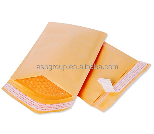 Kraft Bubble Mailers #5 Bubble Envelopes 10.5x16 Inch Padded Envelopes