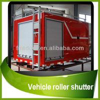 aluminum roller shutter door for truck