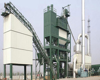 Liaoyuan 400t/h Asphalt Mixing Plant with Twin-shaft Mixer