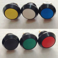 12mm Metal Push Buttons, LED Indicator Lights, Selector Switches