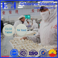 Chlorine Dioixde Used as disinfectant for Food Processing