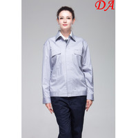 Latest Arrival Summer Twill Work Uniform Ladies Office