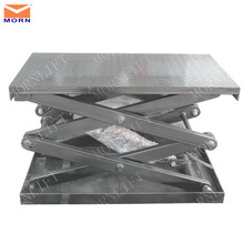Factory direct sale hydraulic scissor lift equipment for garage