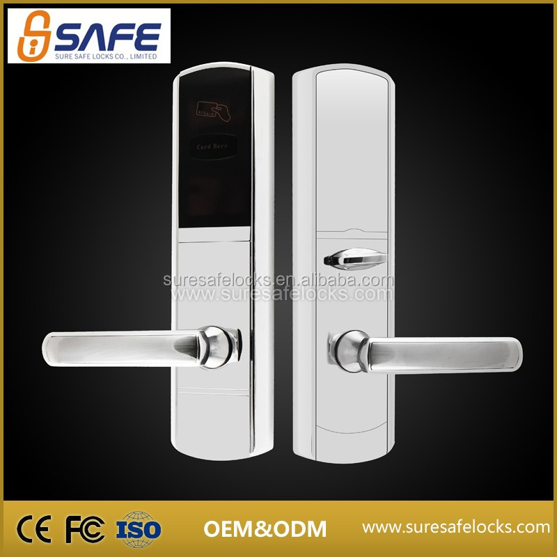 Best electronic hotel keyless card reader door lock company in China
