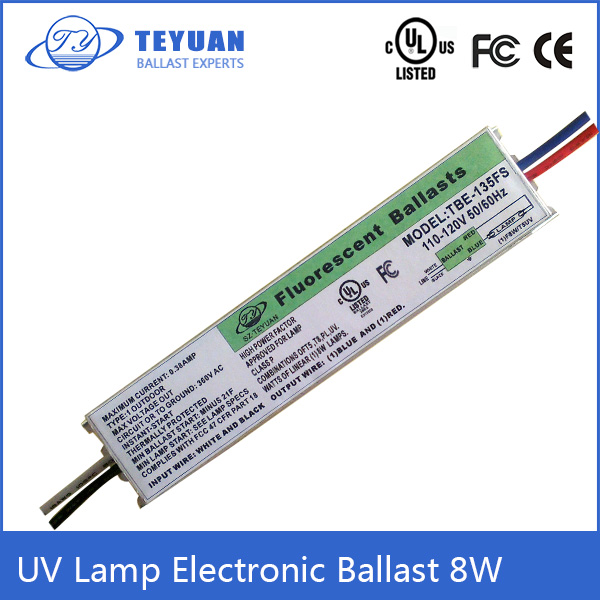 UL Listed T5 8W Electric Ballast for UV Germicidal Lamp