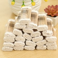 Hot sale sterile wooden cotton swabs liquid filled cotton swab