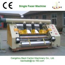 DW single facer machine for corrugated cardboard /double layers single facer machine ,single facer cardboard packaging machinery