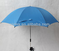 umbrella attachment bike/bicycle stick /baby stroller umbrella