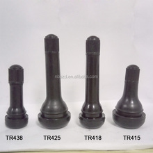 Schrader valve rubber tubeless TR418 tire nozzle