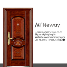 Modern house latest steel safety doors compound wall and gate designs with apartment