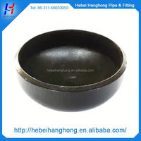 seamless butt weld carbon steel end cap pipe fitting