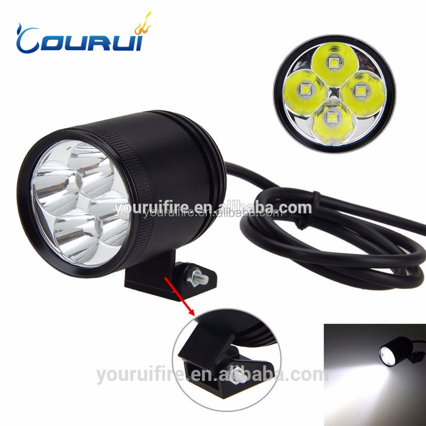 New MT18 rechargeable Motorcycle led light 4xled led light