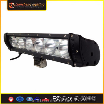 Factory 12V 24V sxs spot beam combo flood beam led light bar 4x4 60W led bar light mounting bracket