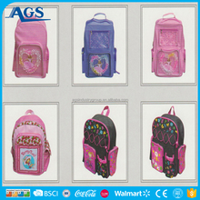 Hot student supplies backpack bag school use
