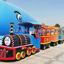 Chianese Supply Wooden Pedal Train Toy Steam Locomotives