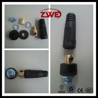 Male & Panel Female CE Standard New Euro Type Welding Cable Sockets