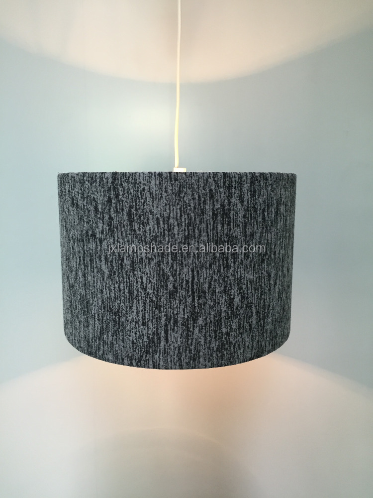 Velvet Fabric Hanging/Table Lampshade