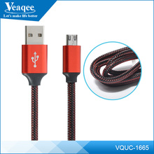 Veaqee wholesale custom USB 3.0 noodle micro usb data cable for android mobile