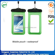 Waterproof bag for smartphone with arm belt