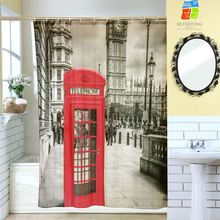 Wholesale Latest Design printed shower curtain