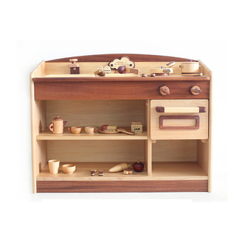 China Manufacturer kid toy wood toy kitchen For Wholesales