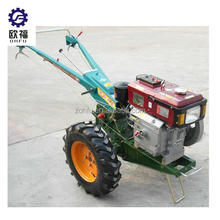 China farm machinery 12hp mini hand walking tractor prices