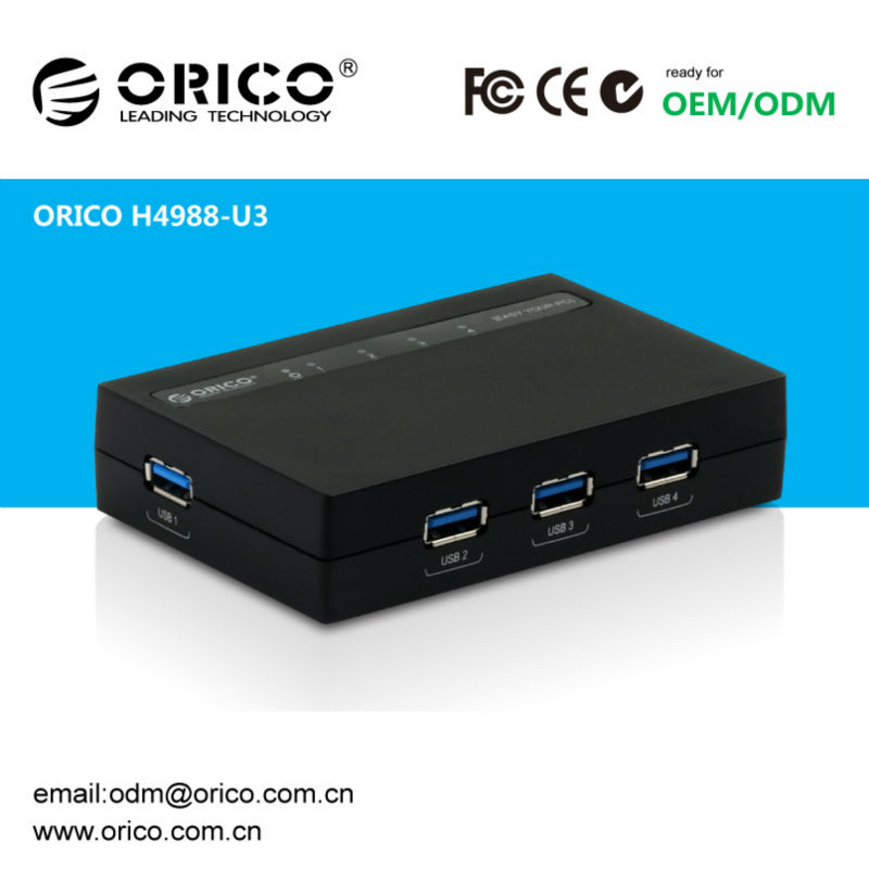 ORICO H4988-U3 high speed usb3.0 4-port smart hub driver to usb
