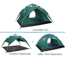 double layers waterproof outdoor camping and hiking equipment pop up trailer tent