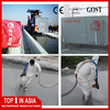 Spray applied polyurea waterproof coating for steel, 100% pure type