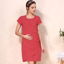 Pregnant Woman Breastfeeding Clothes Maternity Dresses For Office
