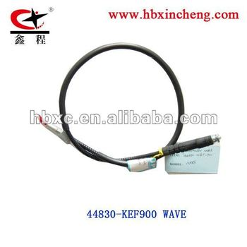 WAVE METER CABLE 44830-KEF900 motorcycle cable METER CABLE HEBEI JUNSHENG FACTORY