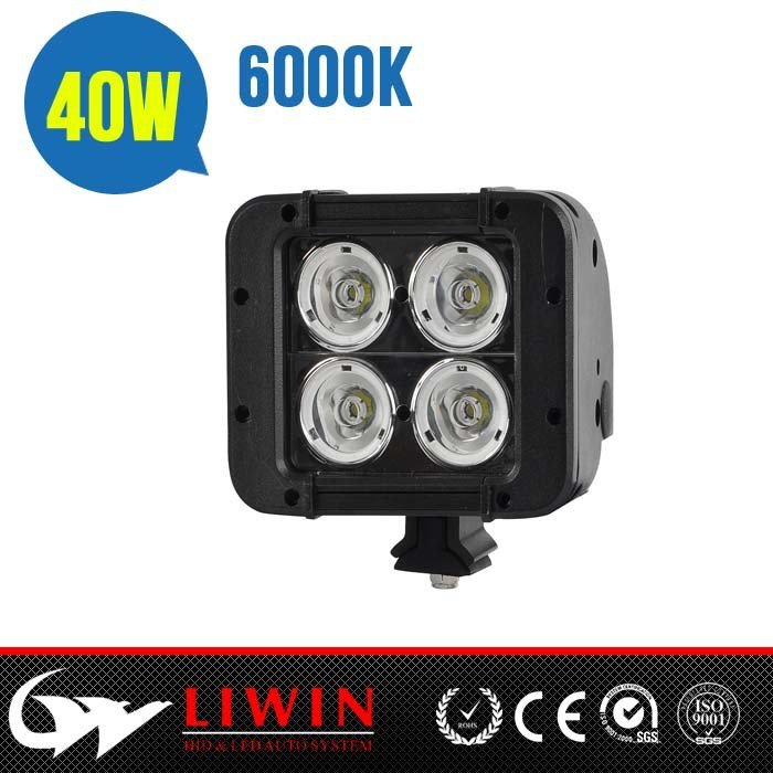 "LW New and Hot lw led 4.6"" 40W off road 4x4 pick up led light bar"