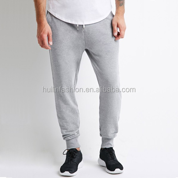 China Manufacturer Classic French Terry Sweatpants