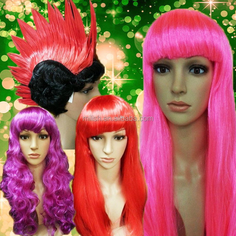 MPW-0003 factory good price funny Festival Event Carnival party Halloween wig
