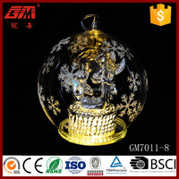 120mm decorative ball glass crafts with the birth of jesus