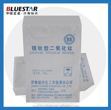 paper and soap use anatase type titanium dioxide (manufacturer)