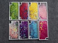 Glitter Star Flowing Water Liquid Case For Huawei P7 Ascend P7 p8 p9 Transparent Clear Golden Covers Hard Plastic Phone Cases