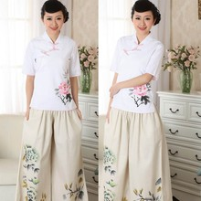 Wholesale chinese traditional one set of woman clothes