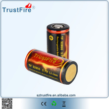 PCB protection,32650 Li-ion battery rechargeable military grade battery for Led lamp