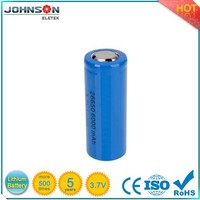2015 new type lifepo4 26650 rechargeable battery 3.2v 3000mah