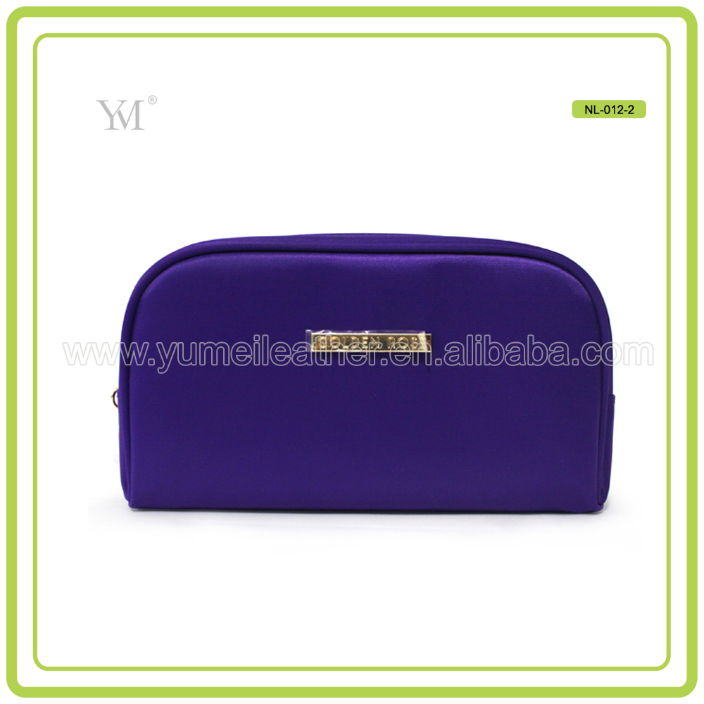 New Style Elegent Nylon Personalized Toiletry Bags With Costom Logo