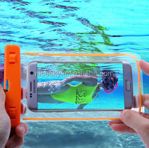 Swim Photography Waterproof Bag Touch Luminous Case For Xiaomi MI5 Redmi 3 Pro Water Proof Pouch For iPhone 5 6 for Samsung S6