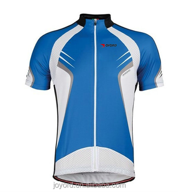 Sublimated Printing Comfortable International Cycling Jerseys