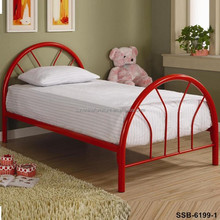 Youth Bedroom Furniture Metal Single Cot Bed