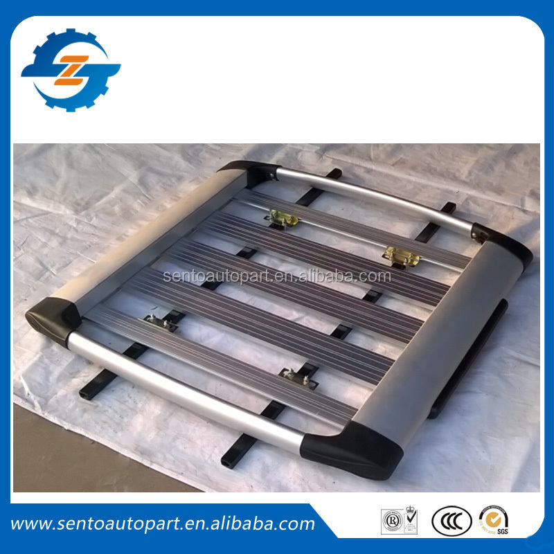 Aluminium alloy universal luggage rack car roof rack 4x4 for car roof
