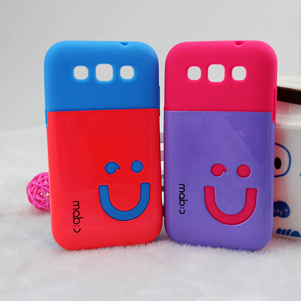 Sunshine smile glaze mobile phone case for Samsung S8552