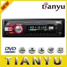 1din fixed panel car dvd player with am fm RDS