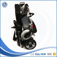 Manul Push Four Wheels Trolley Wheelchair with Power Supplier for Fracture Dislocation Use