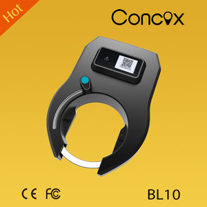 BL10 bike gps locator smart bike sharing gps lock tracker Powered by solar energy